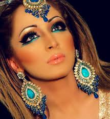 bridal makeup for walima day