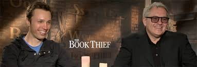 author markus zusak and director brian percival the book thief  the book thief markus zusak brian percival interview
