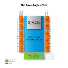 Rave Eagles Club Seating Chart Achayrapost