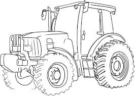 Free Printable Farm Tractor Coloring Pages Farmer Coloring Pages S