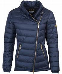 Barbour International Jurby Quilted Jacket - Ladies Quilted ... & Quality Fashion Barbour International Jurby Quilted Jacket Navy Ladies  Wholesale Adamdwight.com