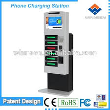 Vending Machine That Buys Phones Extraordinary Mobile Phone Charging Stationmobile Phone Charging Vending Machine