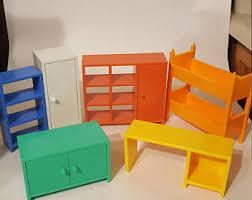 ikea doll furniture. Ikea Dollhouse Furniture Retro Doll Bed Set Bedroom Barbie Miniature R