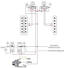 squier strat modding ultimate guitar so i guess i m using the same wiring that jag stang has a on on jaguar style switch for humbucker splitting note this is the schematic out the