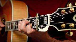 How To Use A Guitar Capo Chart