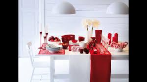 Декор новогоднего <b>стола</b>. В белом, <b>красном</b> и зеленом!!! - YouTube