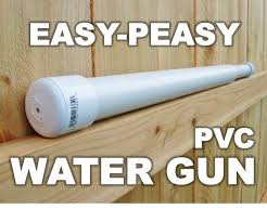 Easy-Peasy PVC Water Gun