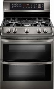 double oven gas range. Ft. Self-Cleaning Freestanding Double Oven Gas Range With I