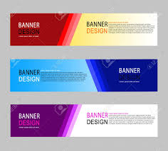 Desain Banner Abstract Geometric Design Banner Web Template Banner Background