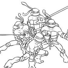 Small Picture Print Download The Attractive Ninja Coloring Pages for Kids