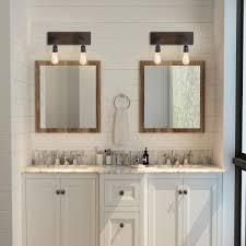 lnc black bathroom vanity light 2 light