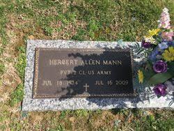 Herbert Allen Mann (1934-2009) - Find A Grave Memorial
