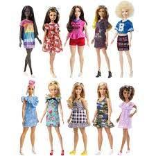 Đồ chơi Búp bê Barbie thời trang Fashionista BARBIE FBR37 TS