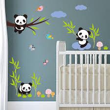 ... Wandtattoo Kinderzimmer Junge Mädchen Panda Tiere Sticker Aufkleber  Baby Kind 2