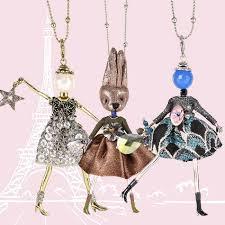 paris doll necklaces