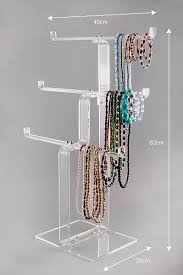 Necklace Stands : Acrylic - Perspex Necklace Stands. Jewellery ...