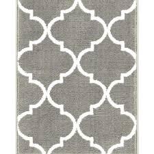 modern grey geometric trellis area rugs mid century round wrought studio