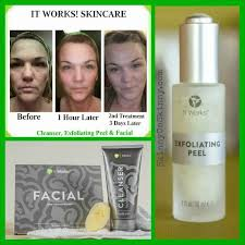 it works exfoliating peel before and after exfoliating peel to uncover your glow skinny on low carb