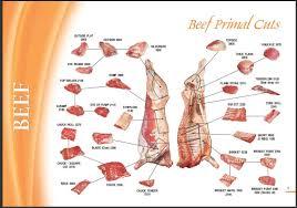 Pork Meat Cuts Chart Pin On Meat Cut Charts