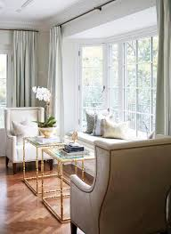 bay window furniture living. Large Bay Window Popular Bench With Gold Bamboo Tables Transitional Living  Room Regard To 23 Bay Window Furniture Living