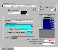 Precision Financial Calculator Depreciation Calculator
