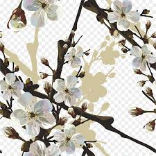 Paper Flower Branches Cherry Blossom Paper Flower Cherry Tree Branches Png Download