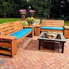 wood outdoor sectional.  Sectional Cinder  Throughout Wood Outdoor Sectional U
