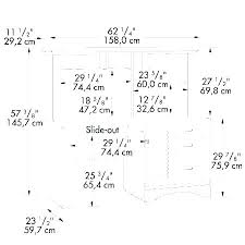 office desk size. Office Desk Height What Is Standard Of Full Image For Dimensions Size Ideal