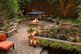 Small Picture Interesting Garden Ideas 2017 Uk Design Led Outdoor Throughout