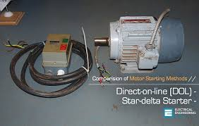 comparision of dol and star delta motor starting comparision of direct on line dol and star delta motor starting