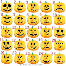 Funny Face Templates Pumpkin Face Templates To Print Scary Faces Funny Carving