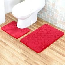 floor rugs embossed bathroom bath mat set flannel toilet mats absorbent ikea malaysia mercer