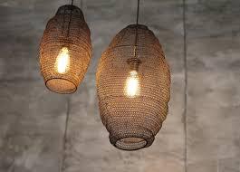 Handgevlochten Metalen Lamp L Lang Fabrikten Home Decoratie