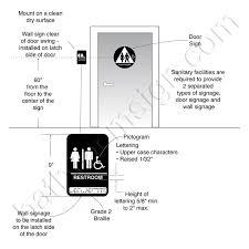 california ada bathroom requirements. California Approved Title 24 ADA Compliant Bathroom Signs Ada Requirements R