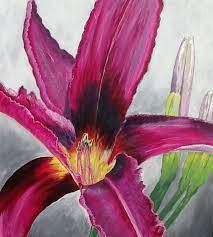 pink lily acrylic 18 24