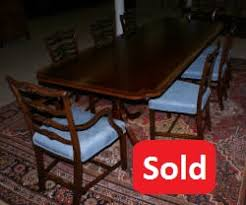 projects inspiration 1940s dining room set antique table and chairs gany furniture banded inlaid modern with