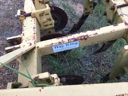 used plow disc six tow behind with furrow plows discs texas cooker