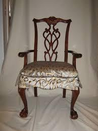 Linen Dining Room Chair Slipcovers Elegant Red Linen Dining Chair Slip Cover With Sash Loversiq