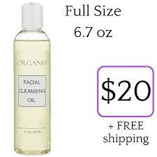 organys cleansing oil makeup remover best natural anti aging gentle daily face wash deep cleanser