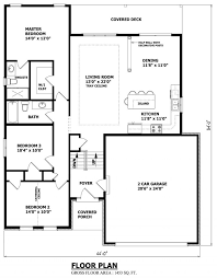 Small Picture Narrow raised bungalow CANADIAN HOME DESIGNS Custom House Plans