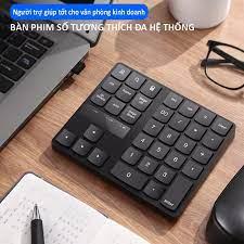 Bàn phím bàn phím máy tính bàn phím không dây 35 phím số tiện ích đa