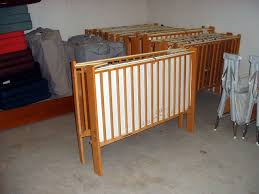 wooden porta crib designs