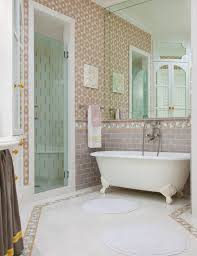 alluring bathroom ceramic tile ideas. Alluring Decorations With White Glass Tile Bathroom : Epic Design Ideas Using Oval Free Standing Ceramic O
