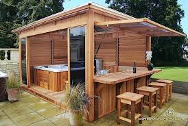 louvered spa enclosures from crown pavilions uk