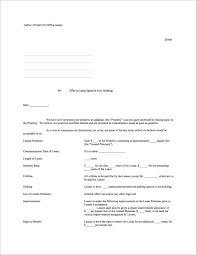 Lease Letter Of Intent Sample How To Negotiate The Best Office Lease For Your Startup 23