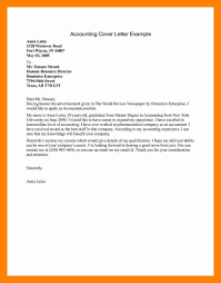 98 Accounting Intern Cover Letter Sample Cover Letter Template