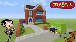 Minecraft Tutorial How To Make Mr Beans House Mr Bean animated