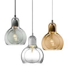 modern mini pendant lighting. modern led light fixtures ambertransparent clear glass pendant lamps design for office restaurant kitchen mini lighting