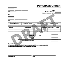 samples of purchase order form create a purchase order form in minutes legaltemplates