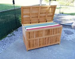 wicker patio chest